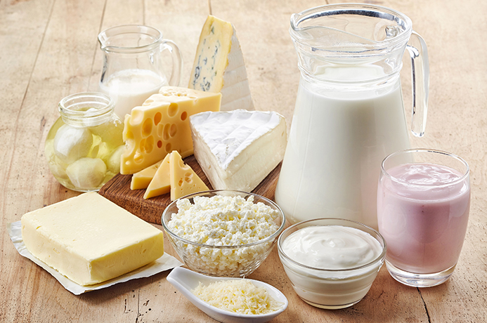 High In Calcium Food Products