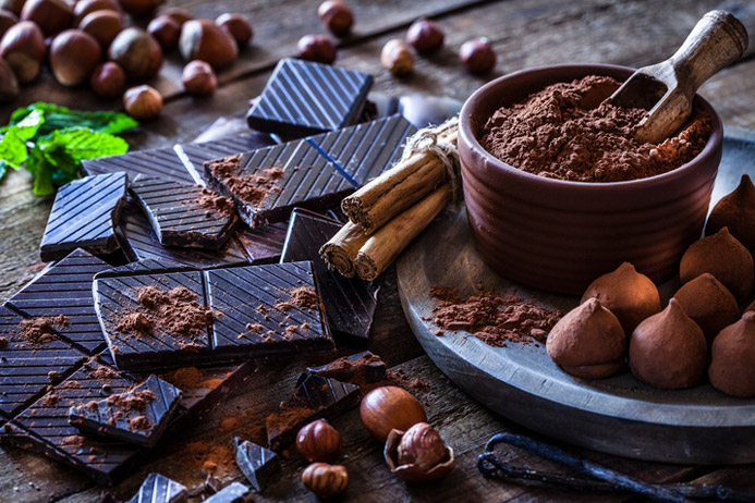 The Benefits of Eating Chocolate.  Yes, That's Right … Chocolate