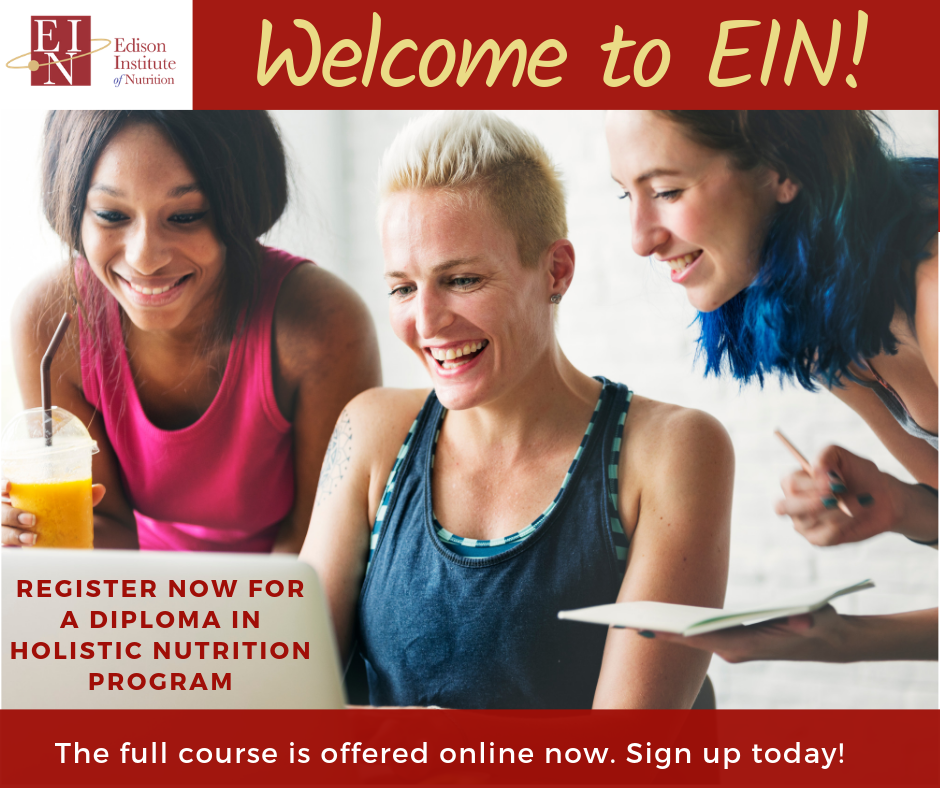 Online Holistic Nutrition School : Edison Institute of Nutrition